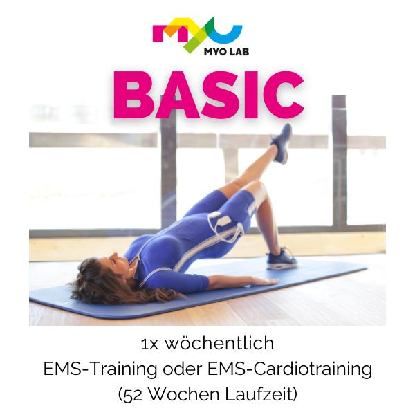 BASIC 1x wöchentlich EMS-Training oder EMS-Cardiotraining (Jahresvertrag) (1)