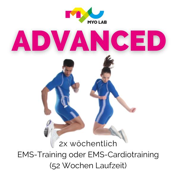 BASIC 1x wöchentlich EMS-Training oder EMS-Cardiotraining (Jahresvertrag)